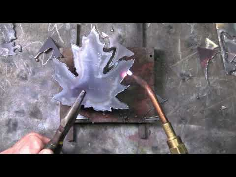 Cutting Copper with the Oxygen/Acetylene Torch