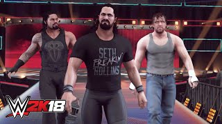 WWE 2K18 entrance mashup: The Shield as Evolution