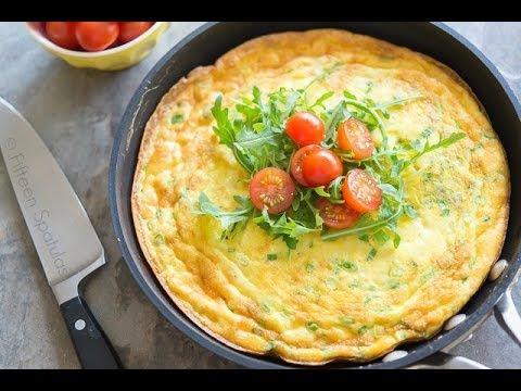 Potato Cheddar Frittata: Breakfast + Brunch Recipe (it's like a big baked omelet)!