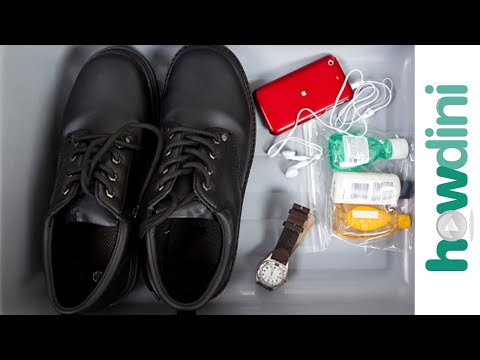 How to minimize airport security hassles