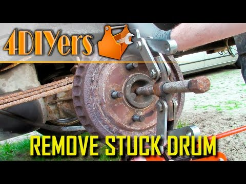 5 Ways How to Remove a Stuck Brake Drum