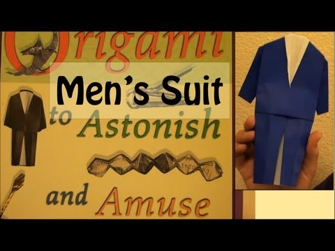 Fold an Origami Men's Suit by Jeremy Shafer