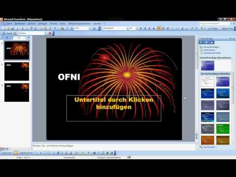 PowerPoint 2003 - Designs ändern