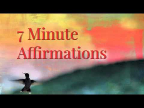 POWERFUL 7 Minute Affirmations - Self Confidence for Teens