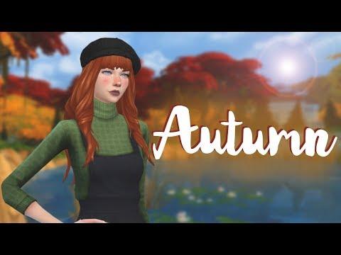 The Sims 4 Создание персонажа   Осень   Autumn 🍁