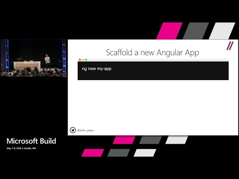Building full-stack Node.js web apps with Visual Studio Code : Build 2018