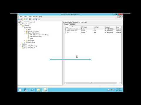Gpo backup and restore in server 2012 R2