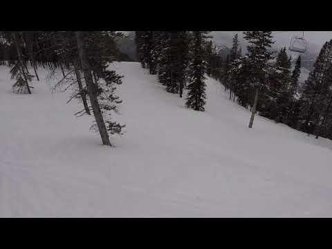 Fun day Snowboarding in Canada