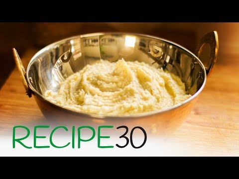 Secret to a Fluffy Mashed Potato Recipe