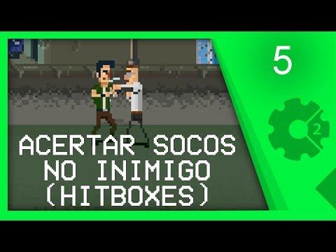 HITBOXES E COLISÃO COM INIMIGO - Curso Beat'em Up / Brawler Aula 5 [CONSTRUCT 2]