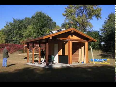 How to Build a Shed With a Front Porch