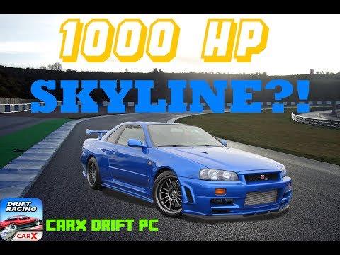 1000hp Skyline GTR! CarX Demo Tuning