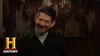 Forged in Fire: Beat the Judges: SUPER SHARP Dueling Sword Duel (Season 1) | History