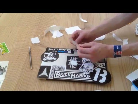 DIY: HOW TO: Sticker bomb a macbook or pc