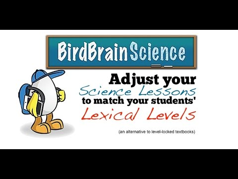 BirdBrain Science for Differentiated Science Lessons