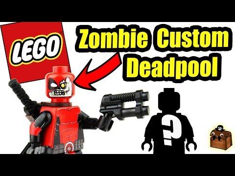LEGO Deadpool Custom Minifigures 2017