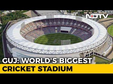 Work Begins On World's Biggest Cricket Stadium In Ahmedabad