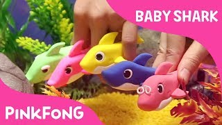 Clay Baby Shark | Pinkfong Clay | Animal Songs | Pinkfong Songs for Children