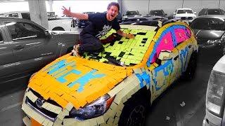 STICKY NOTE COVERED CAR PRANK!