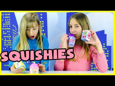 SQUISHIES! SMOOSHY MUSHY, KAWAII SQUEEZIES, SOFT'N SLOW Surprise Mystery Toys
