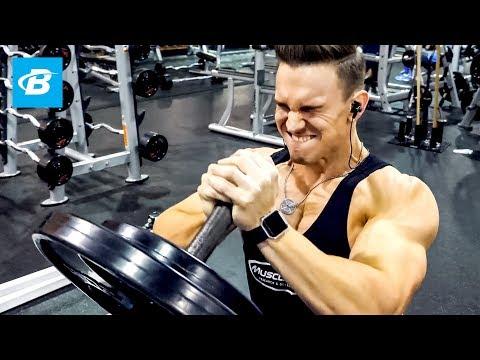 Abel Albonetti's Killer Upper Chest Workout | Raw