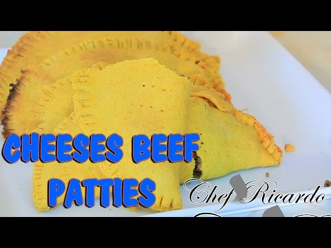 Cheeses Beef Patties Recipe | Recipes By Chef Ricardo