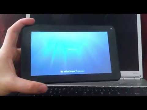 Windows 7 on Android Tablet