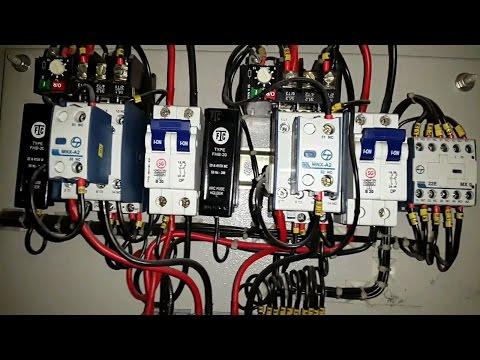 3HP single phase motor starter panel  type 2 Electrical videos  in tamil & English