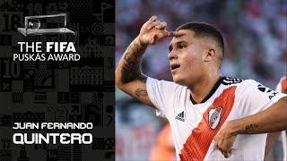 FIFA PUSKAS AWARD 2019 NOMINEE: Juan Fernando Quintero