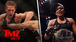 We Now Know Why Amanda Nunes Pulled Out Of UFC 213   TMZ TV