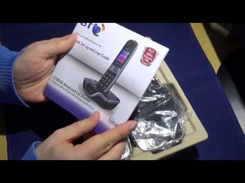 Unboxing - BT 8600 Cordless Phone with Call Blocking Technology