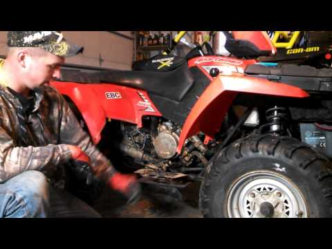 Polaris Sportsman starter bendix replacement