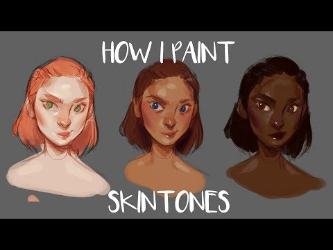 HOW I PAINT SKIN TONES