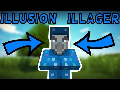 Illusion Illager New Mob In Minecraft 1.12! (Snapshot 17w16a)
