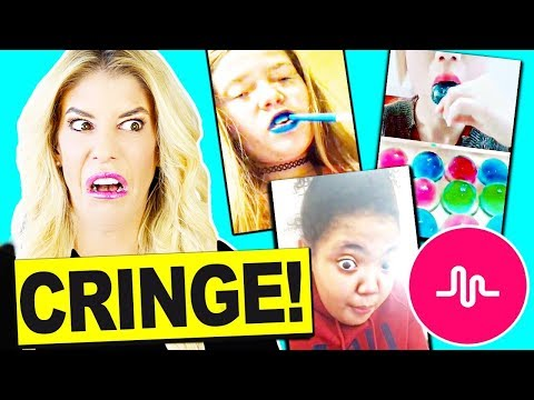 i Can't Believe they did This! Reacting To Fan's Cringy Musical.ly Videos