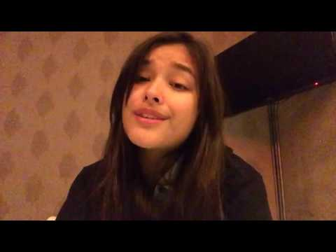 Liza Soberano sings 'When Im Gone' (The Cup Song)