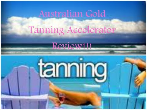 Australian Gold Tanning Accelerator Review