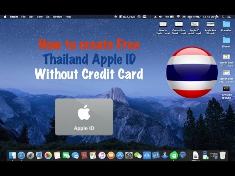 Create Free Thailand Apple ID with out Credit Card