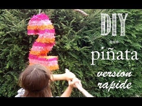 DIY Tuto: Comment Faire Une Piñata, Version Rapide.