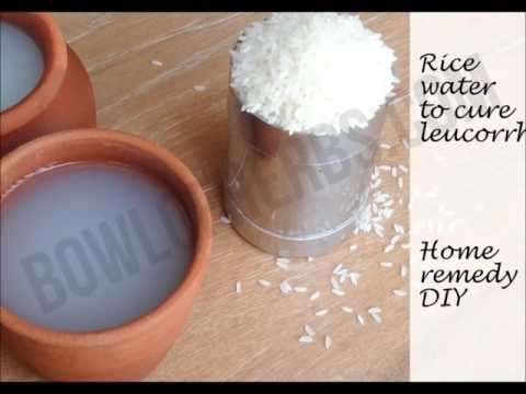 Cure White Discharge With Rice Water – Recipe | Bowl of Herbs