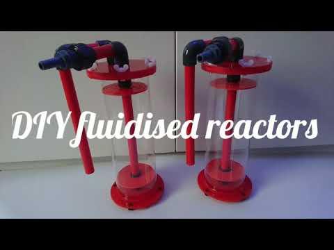DIY fluidised reactors