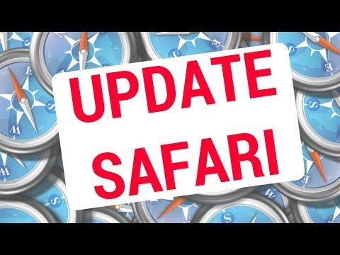 👍 How to UPDATE SAFARI on MAC?