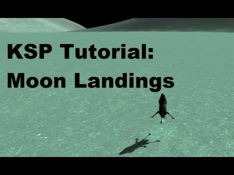 Kerbal Space Program 101 - Tutorial On Getting To & Landing On Moons