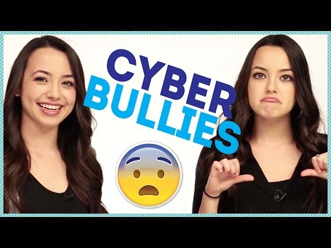 HOW TO DEAL WITH CYBER BULLIES w/ the Merrell Twins
