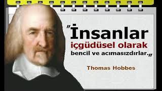 """""""felsefe Yapmak Doğru Düşünmektir."""" Thomas Hobbes Sözleri 1588 1679"""