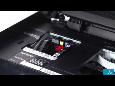 How to Setup your Dell Inkjet Printer and Change Ink Cartridges
