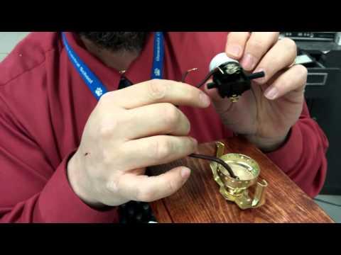 Lamp Socket Wiring