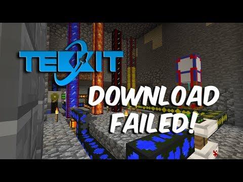Minecraft Tekkit: How to fix download FAILED (STILL WORKING)