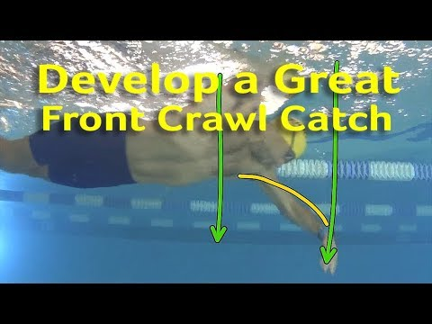 How to Develop a Great Front Crawl Catch