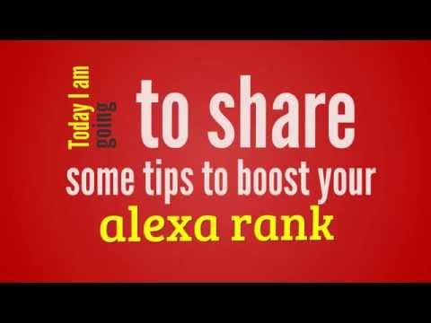 Top Ways to Increase Alexa Traffic Rank